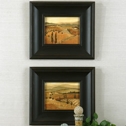"33408 GOLDEN TUSCANY AFTERNOON I, II S/2 by Uttermost - Get 10% discount on your first order. Coupon code: ""houzz"". Order today."