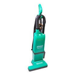 "Edmar Corporation - 2 motor Upright Vacuums - Bissell Big Green Commercial 15"" Dual Motor Upright with On-board Tools Heavy-duty Commercial Vacuums Two-motor system; 120V 1080W 9A; 15"" cleaning path makes efficient wide-path clean; Sleek foot cleans under furniture; Comfort-clean handle; 50-foot professional extension cord for 100 feet of cleaning reach; Quick and easy cord change; Plastic wand for longer reach; Durable drive belt -built to last; Reaches into corners and crevices with L-shaped head; Vacuums head adjusts to suit flooring; Comfortable handle for a comfortable clean; Full handle detent -Vacuums reaches under beds and furniture; Wire-reinforced hose stretches up to 6 feet to maximize cleaning reach; 2-in-1 upholstery tool; Crevice tool for hard-to-reach cleaning."