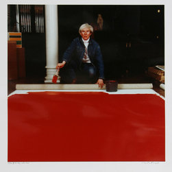 Curtis Knapp, Andy Warhol Red Series 1, Color Photograph - Artist:  Curtis Knapp, American