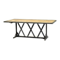 Go Home ltd - Tracks Dining Table - Tracks Dining Table.