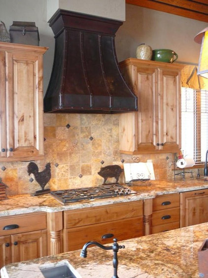 Eclectic Range Hoods And Vents by Texas Lightsmith