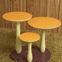 Thomas Wold Wild Mushroom Side Table - Thomas Wold