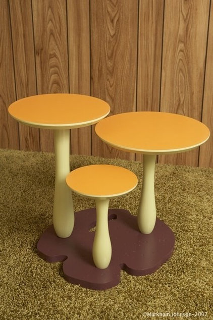 eclectic side tables and accent tables by Thomas Wold