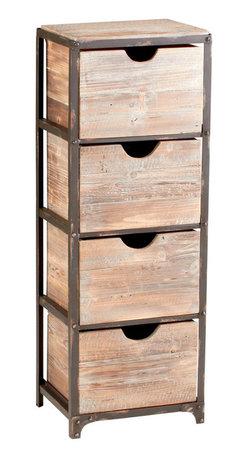 Cyan Design - Talford Four Drawer Storage - -Talford Four Drawer Storage