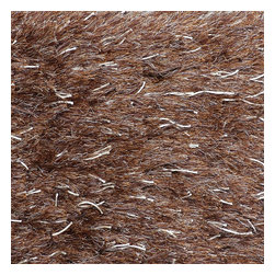 Loloi Rugs - Loloi Rugs Royal Brown Shag Rug X-656300RB10-SRAYOR - The Royal Shag lives up to its name with beautifully subtle variances in color. This sophisticated yet playful collection out of India features lush, hand-crafted strands of polyester.