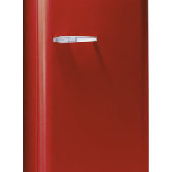 "Smeg ""Retro"" Refrigerator - Retro styling with modern appeal. Plus, who wouldn't love a brightly colored fridge?"