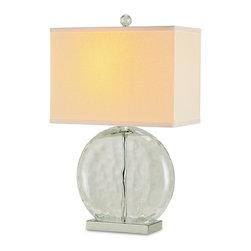 Cyan Design - Cyan Design 06328 Beige Round Footloose Ottoman - 1 Bulb, Bulb Type: 100 Watt Edison; Weight: 7lbs