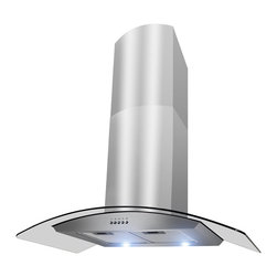 Golden Vantage - Golden Vantage OSWRH703S-30-GV Stainless Steel Wall Mount Range Hood - With a variety of features and minimalist design,this range hood accentuates your kitchen. Complement your kitchen decor with this fantastic range hood.