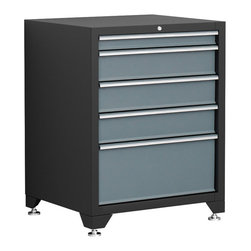 Newage Products - NewAge Products Pro Series Grey Tool Drawer - Our Pro Series Tool Drawers are the ideal tool storage and protection solution. Steel inner walls provide added strength and durability while fully lockable doors offer the peace of mind that your gear stays safe.