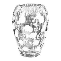 Dale Tiffany - Dale Tiffany GA500410 Festival Crystal Vase - Dimensions: W 6.5 x L 6.5 x H 9.25