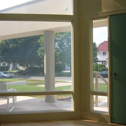 Switchable Privacy Glass front Entry Way -