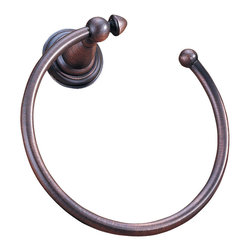 Delta Towel Ring - 75046-RB - The Victorian Bath Collection adds an impressive element of distinction - and a touch of old-world charm - to any bath.