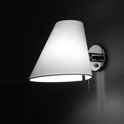 """Modiss - Modiss Jade wall sconce - The Jade wall sconcce from Modiss has been designed by Modiss contract division in 2005. This wall mounted luminaire is great for incandescent lighting. The Jade is composed of a shade made of cloth available in white, black or beige. The structure is constructed of metal available in a matte aluminum, satin nickel or chrome finish.   Product Details: The Jade wall sconcce from Modiss has been designed by Modiss contract division in 2005. This wall mounted luminaire is great for incandescent lighting. The Jade is composed of a shade made of cloth available in white, black or beige. The structure is constructed of metal available in a matte aluminum or satin nickel. Details:                                      Manufacturer:                                      Modiss                                                     Designer:                                     Modiss contract division                                                     Made in:                                     Spain                                                     Dimensions:                                      Height: 8.3"""" (21 cm) Width: 11.8"""" (30 cm) Diameter: 7.9"""" (20 cm)                                                     Light bulb:                                      1 X 60W incandescent                                                     Material:                                      Cloth, Metal"""