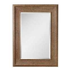 Murray Feiss - Rusted Mirror - Item Weight: 24 lbs.