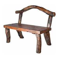 Groovystuff - Groovystuff Alpine Bench in Honey - Features: