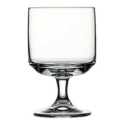 Hospitality Glass - 4.5H x 2 3/4T x 2.5B Tower 8 oz Stacking Beer Glasses 12 Ct - Tower 8 oz Stacking Goblet