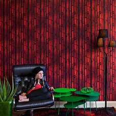 Contemporary Wallpaper by Innobo Inc