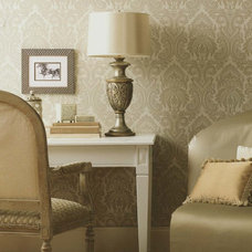 Traditional Home Office by American Blinds Wallpaper and More