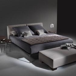 Flexform Beds - Lifesteel bed by Flexform