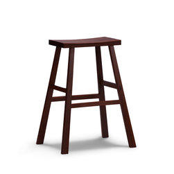 Greenington - Greenington Holly Bar Height Stool in Exotic Bamboo [Set of 2] - Bar Height Stool in Exotic Bamboo belongs to Exotic Collection by Greenington Providing extra seating for dinner guests or after school snacks and homework, or the finishing touch to your living room, Greenington offers these unique Bamboo designs in The Exotic Collection.