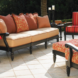 Kingstown Sedona Collection by Tommy Bahama - This beautiful Tommy Bahama collection, the Kingstown Sedona Collection features many design elements inspired by Sedona, Arizona, a town known for its towering red rock formations.