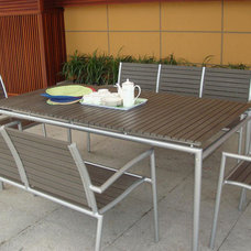 Contemporary Outdoor Tables by Plummers Furniture