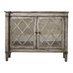 Hooker Furniture - Hooker Furniture Melange Villa Blanca Chest - Hooker Furniture - Chests - 63885032 - Come closer to Melange and you will discover something unexpected an eclectic blending of colors textures and materials in a vibrant collection of one-of-a-kind artistic pieces.