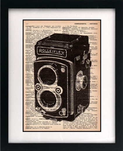 artwork Little Bluebird Studios Vintage Camera Print