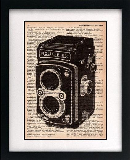 Artwork Little Bluebird Studios Vintage Camera Print