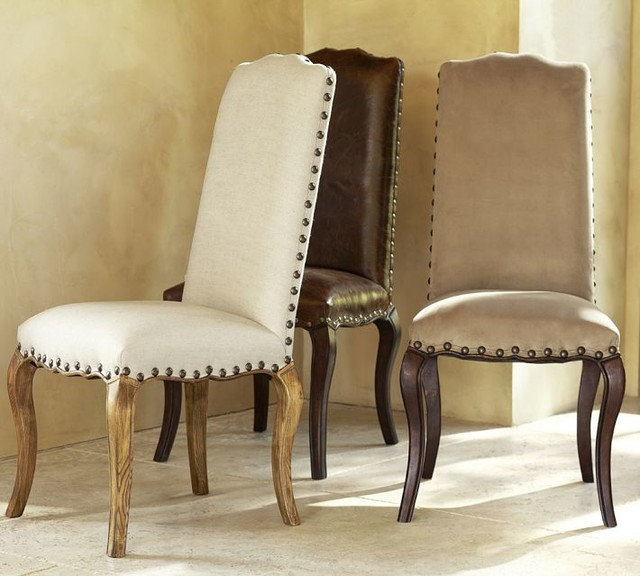 contemporary dining chairs by Pottery Barn