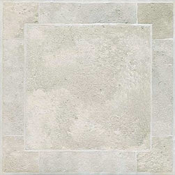 "NATIONAL BRAND ALTERNATIVE - Winton Floor Tile, Self Adhesive Vinyl 12"" x 12"" - Features:"