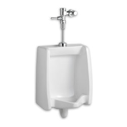 American Standard - American Standard 6590.503.020 .125GFP System Urinal - This ultra-high-efficiency 0.125 GPF urinal uses 87% less water than a standard 1.0 GPF urinal. Features include a flushing rim and washout flush action for effectiveness, and extended sides for privacy. Manual flush valve delivers superior flush accuracy and repeatability, and a self-cleaning brass piston prevents clogging and reduces maintenance.