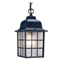 "Acclaim Lighting - Acclaim Lighting 5306 Nautica 1 Light 12"" Height Outdoor Pendant - Acclaim Lighting 5306 Nautica One Light 12"" Height Outdoor PendantThe Craftsman movement inspired the design of this sturdy exterior pendant from the Nautica Collection.Acclaim Lighting 5306 Features:"