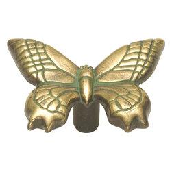 Hickory Hardware - South Seas Knob (Set of 10) (Verde Antique), Verde Antique - Finish: Verde Antique