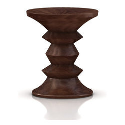 Herman Miller - Eames Walnut Stool C - This fabulous stool allows you to incorporate a piece of midcentury modern design into your current space. Kick up your feet, close your eyes and imagine what you'll add next to create a case-study house of your own.