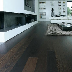 European Oak Wide Plank Hardwood Floors -