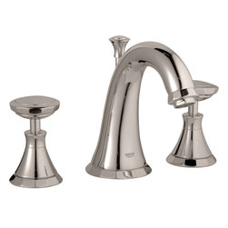 Grohe - Grohe 20124EN0 Polished Nickel Kensington Two Handle Widespread Lav Faucet - Grohe 20124En0 Polished Nickel Kensington two handle Widespread Lav Faucet