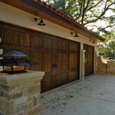 Mediterranean Garage And Shed by Stadler Custom Homes