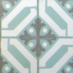 Cuban Heritage 100 - 8x8 Cement Tile