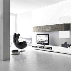 Modern Media Storage by Casa Spazio