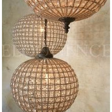 contemporary chandeliers by Greige