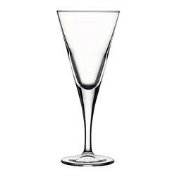 Hospitality Glass - 8.25H x 3.5T x 3B V Line 9 oz Specialty Wine Glasses 12 Ct - V Line 9 oz Specialty