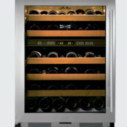 424 Free-Standing Wine Storage - This is the Sub-Zero under-the-counter wine refrigerator that completes my beverage center.