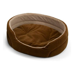 Brinkmann - Brinkmann Oval Corduroy Pet Bed - OV1905-320.5 - Shop for Beds Covers and Fill from Hayneedle.com! Stylish and comfortable the Brinkmann Oval Corduroy Pet Bed is ideal for your family pet. It features a plush microterry sleep surface and a reversible pillow. The bed comes in select color options and is conveniently machine washable.