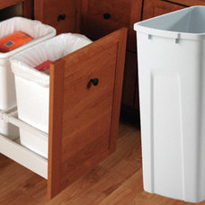 Woodworker.com: BLUM FULL EXTENSION TRASH AND RECYCLE PULLOUT DRAWER