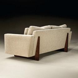 Clip Sofa (back view) from Thayer Coggin - Thayer Coggin Inc.