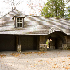 Traditional Garage And Shed by Dungan Nequette Architects