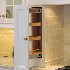 Traditional Cabinet And Drawer Organizers by Architectural Kitchens Inc.