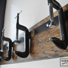 Industrial Hooks And Hangers by Urban Wood & Steel llc
