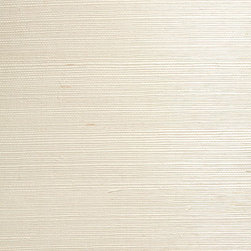 Pei Cream Grasscloth Wallpaper - A gentle taupe cream hue creates a soothing eco-chic beauty for walls in a tight, silky grasscloth weave.